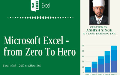 Microsoft Excel – From Zero To Hero