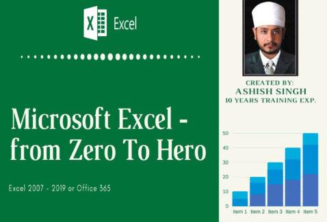 Microsoft Excel – From Zero To Hero